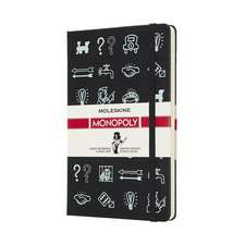 Moleskine Monopoly Icons Limited Edition Notebook Large Ruled