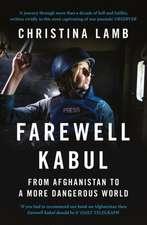Farewell Kabul
