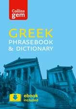 Collins Gem Greek Phrasebook and Dictionary:  Book C