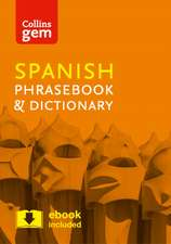 Collins Gem Spanish Phrasebook and Dictionary:  Book C