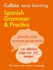 Easy Learning Spanish Grammar and Practice