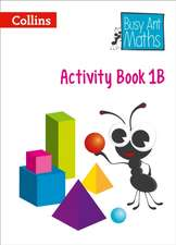 Busy Ant Maths European Edition - Activity Book 1b:  An Authoritative Guide to English Usage