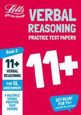11+ Verbal Reasoning Practice Test Papers - Multiple-Choice: for the GL Assessment Tests