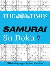 The Times Samurai Su Doku 7