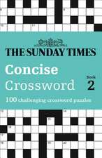 The Sunday Times Concise Crossword Book 2