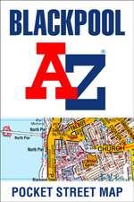-Z Blackpool Pocket Street Map