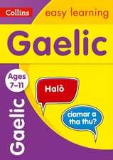 Easy Learning Gaelic Age 7-9