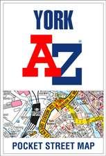 York A-Z Pocket Street Map