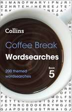 Coffee Break Wordsearches Book 5