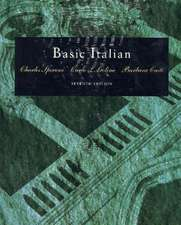 Basic Italian [With Cassette(s)]:  An Introduction