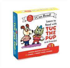 Learn to Read with Tug the Pup and Friends! Box Set 1: Levels Included: A-C