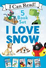 I Love Snow: I Can Read 5-Book Box Set: Celebrate the Season by Snuggling Up with 5 Snowy I Can Read Stories!
