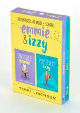 Adventures in Middle School 2-Book Box Set: Invisible Emmie and Positively Izzy