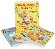 Mouse Cookie Delights: 3 Board Book Bites: The Best Mouse Cookie; Happy Birthday, Mouse!; Time for School, Mouse!