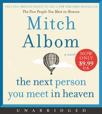 The Next Person You Meet in Heaven Low Price CD