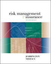 Risk Management and Insurance (Int'l Ed)