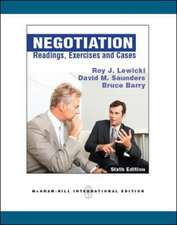 Negotiation: Readings, Exercises, and Cases (Int'l Ed)