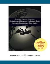 Designing and Managing the Supply Chain 3e with Student CD (Int'l Ed)