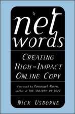 Net Words: Creating High-Impact Online Copy