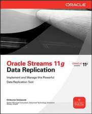 Oracle Streams 11g Data Replication