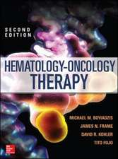 Hematology - Oncology Therapy