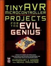 tinyAVR Microcontroller Projects for the Evil Genius