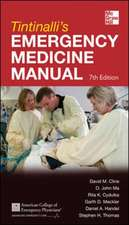 Tintinalli's Emergency Medicine Manual 7th Edition