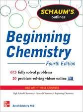 Schaum's Outline of Beginning Chemistry