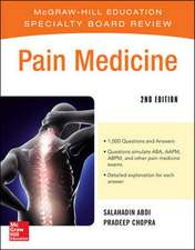 McGraw-Hill Specialty Board Review Pain Medicine, 2e
