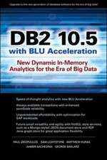 DB2 10.5 with BLU Acceleration
