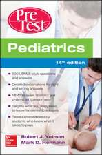 Pediatrics PreTest Self-Assessment And Review, 14th Edition