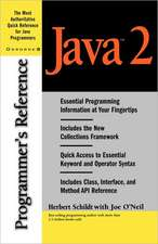Java 2 Programmer's Reference