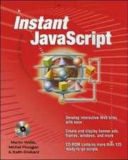 Instant Javascripts:  Windows 2000 Terminal Services