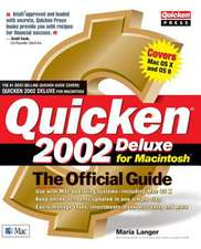 Quicken 2002 Deluxe for Macintosh:  The Official Guide