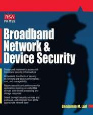 Broadband Network and Device Security