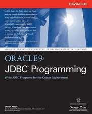 Oracle9i JDBC Programming