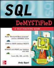 SQL Demystified