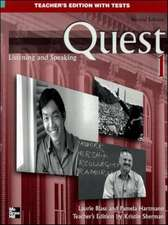 Quest Level 1 Listening and Speaking Teacher's Edition