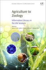 Agriculture to Zoology