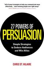 27 Powers of Persuasion