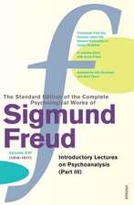 Complete Psychological Works Of Sigmund Freud, The Vol 16