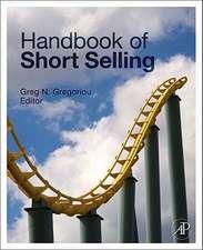 Handbook of Short Selling