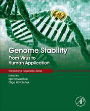 Genome Stability: From Virus to Human Application