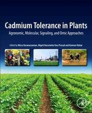 Cadmium Tolerance in Plants