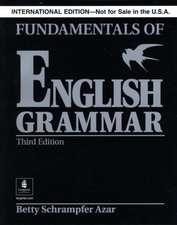 Fundamentals of English Grammar without Answer Key (Black), International Version, Azar Series