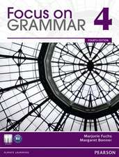 Focus on Grammar 4 [With CDROM]:  A Laboratory Manual to Accompany Electronic Devices