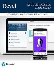 Revel for Social Psychology -- Access Card