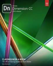 Adobe Dimension CC Classroom in a Book (2018 release)