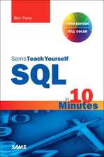 SQL in 10 Minutes a Day, Pearson Teach Yourself