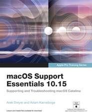 macOS Support Essentials 10.15 - Apple Pro Training Series